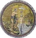 baptism icon mosaic