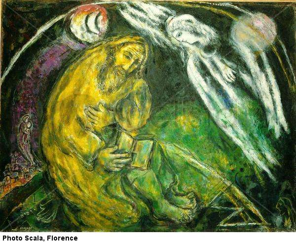 marc chagall prophet