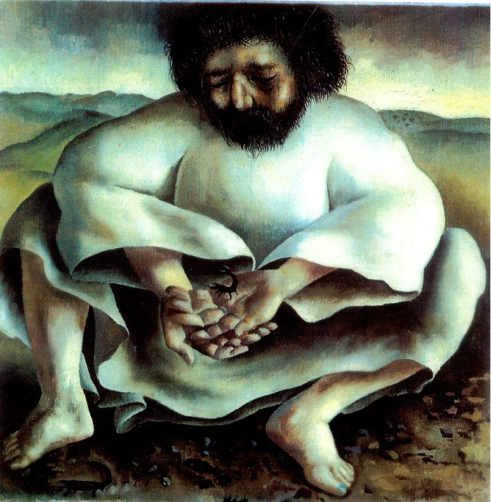 Jesus & scorpion 3