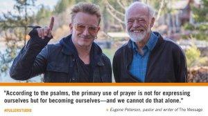 Blog-Psalms-Bono-Eugene-Peterson
