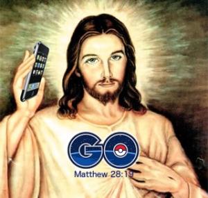 jesus pokemon go